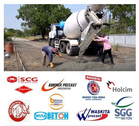 List Harga Beton Ready Mix SCG