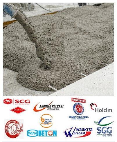 List Harga Beton Ready Mix Per Kubik