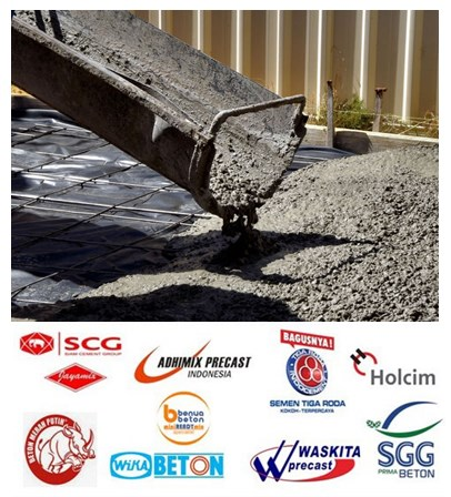 List Harga Beton Ready Mix Adhimix