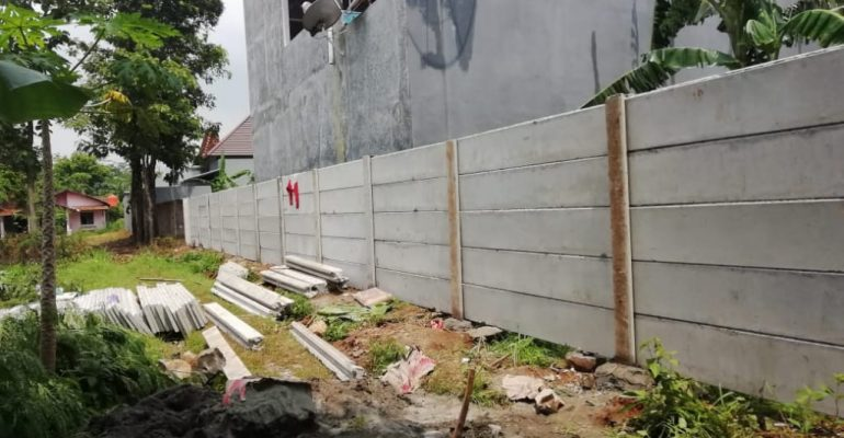 Harga Borong Pasang Pagar Panel Beton di Warnajati Kabupaten Sukabumi