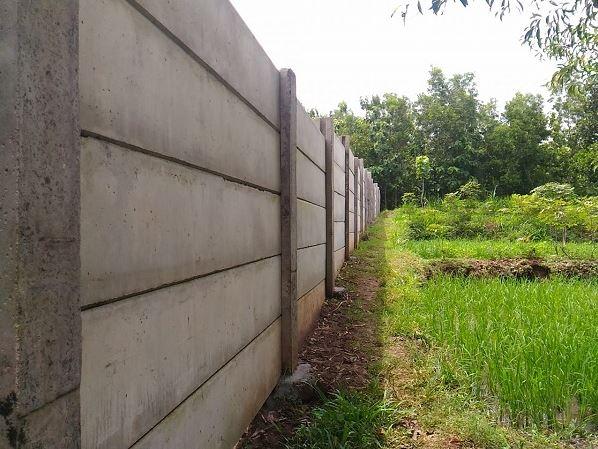 Analisa Harga Pekerjaan Pagar Panel Beton Area Bumisari Kabupaten Sukabumi