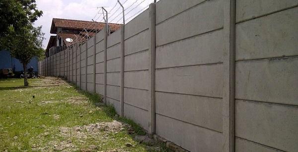 Daftar Harga Pagar Panel Beton Precast Area Mandrajaya Kabupaten Sukabumi