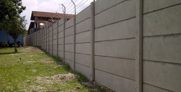Pagar Panel Beton Area Neglasari Kabupaten Sukabumi