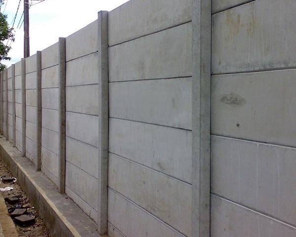 Analisa Harga Pekerjaan Pagar Panel Beton Area Gebangjaya Karawang