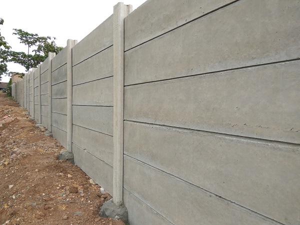 Pagar Panel Beton Area Karang Asem Barat Bogor