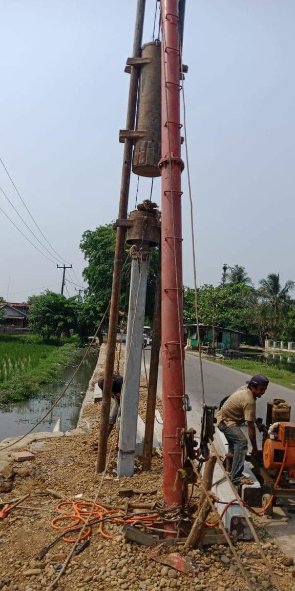 Harga Tiang Pancang Beton Segi Empat Area Parungmulya Karawang