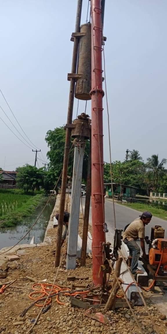 Harga Tiang Pancang Batang Area Tanah Tinggi Tangerang
