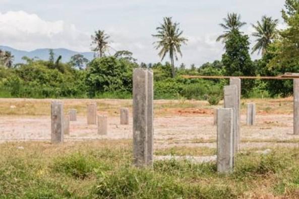 Harga Tiang Pancang Paku Bumi Area Serdang Wetan Legok Tangerang