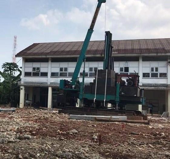 Harga Tiang Pancang Beton Segitiga Area Gelora Jakarta Pusat