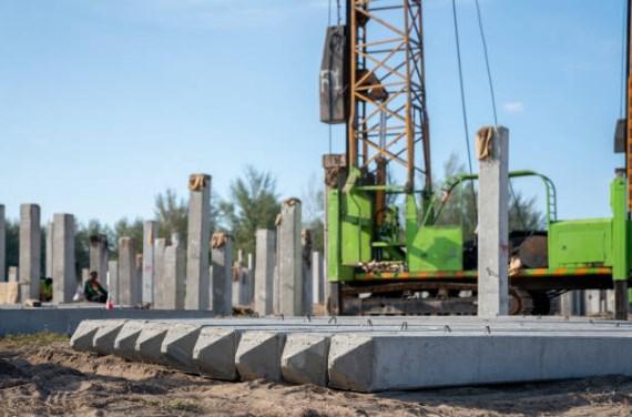 Harga Tiang Pancang Beton Segi Empat Area Talaga Cikupa Tangerang