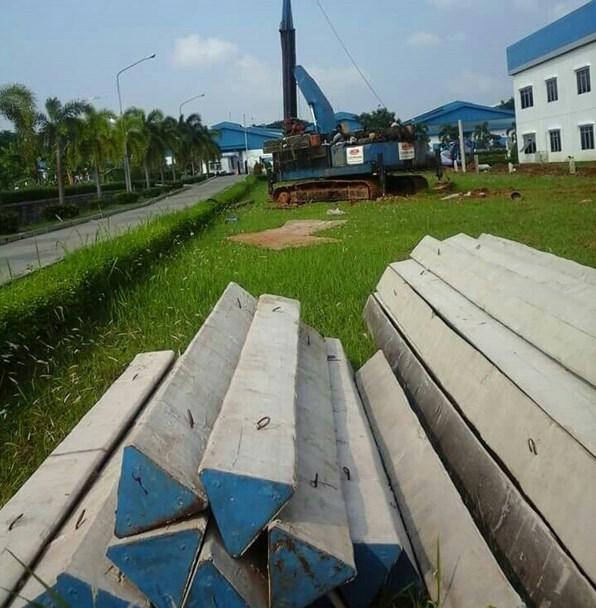 Harga Tiang Pancang Segitiga Area Peusar Tangerang