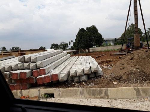 Harga Tiang Pancang Paku Bumi Area Tanah Abang Jakarta Pusat