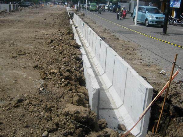 Jual U Ditch Beton Area Gunung Malang Tenjolaya Bogor