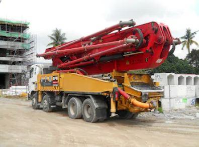 Sewa Concrete Pump Long Boom Di Ciemas Kabupaten Sukabumi