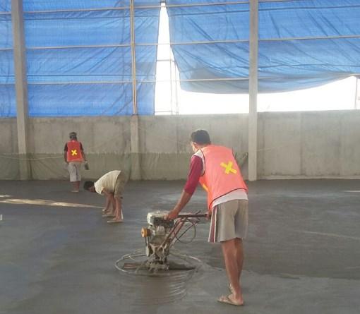 Jasa Trowel Lantai Beton Floor Hardener di Sukamakmur Bogor