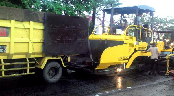 Aspal Jalan Murah di Tegallega Kabupaten Sukabumi