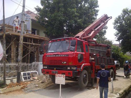 Harga Sewa Concrete Pump Per Jam Di Cemarajaya Karawang