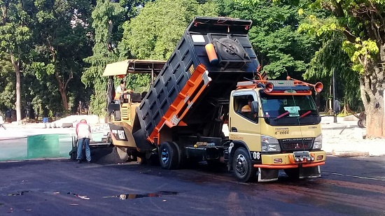 Jasa Pemborong Aspal Jalan Murah di Selawangi Tanjungsari Bogor
