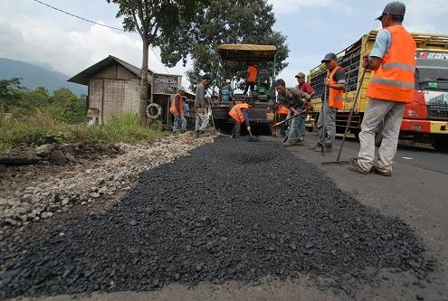 Analisa Pekerjaan Aspal di Rajeg Tangerang