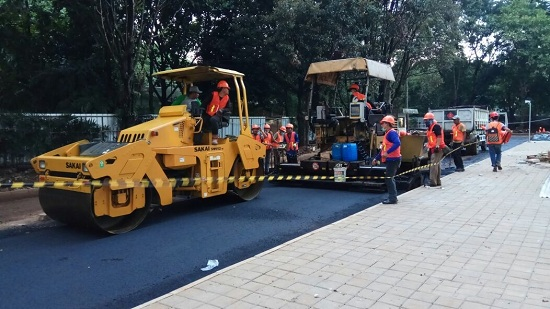 Analisa Harga Satuan Pekerjaan Jalan Aspal di Kandawati Gunung Kaler Tangerang