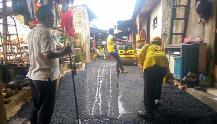 Aspal Hotmix Per Meter di Purwasedar Kabupaten Sukabumi