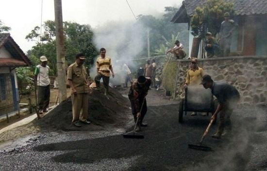 Jasa Perbaikan Jalan Pemborong Jalan Aspal di Pondok Kaso Tonggoh Kabupaten Sukabumi