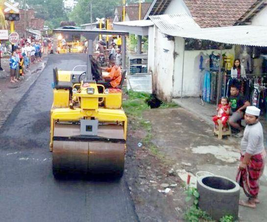 Analisa Harga Satuan Pekerjaan Aspal Hotmix di Karangharja Cisoka Tangerang