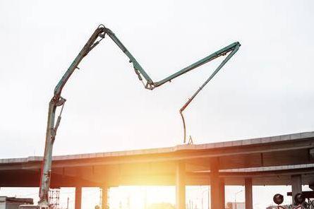 Sewa Concrete Pump Long Boom Di Duren Seribu Depok