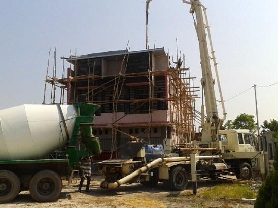 Sewa Pompa Beton Portable Di Jayamekar Sukabumi