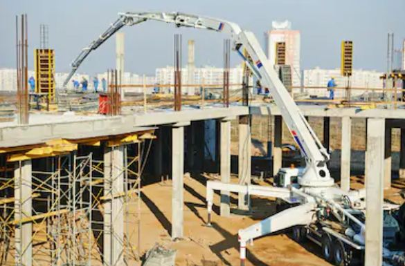 Sewa Concrete Pump Long Boom Di Maphar Jakarta Barat