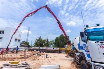 Sewa Pompa Beton Portable Di Rambutan Jakarta Timur