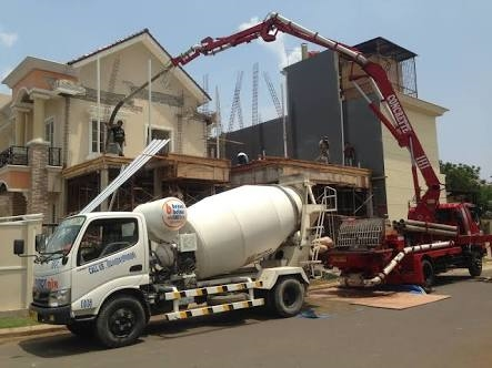 Harga Beton Minimix K350 di Harapan Jaya Bogor