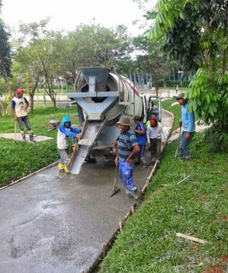 Harga Beton Cor Minimix Holcim di Waluran Kabupaten Sukabumi