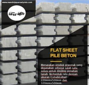 flat-sheet-pile-beton